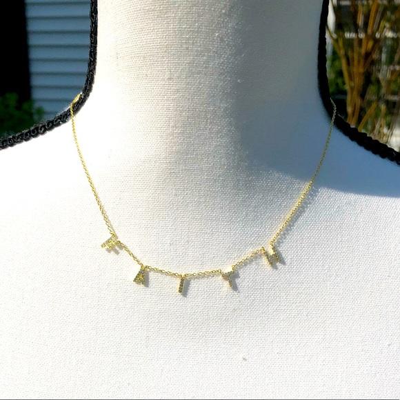💎 NEW Argento Vivo FAITH Gold Necklace